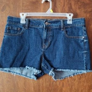 Old Navy blue Jean cut off shorts